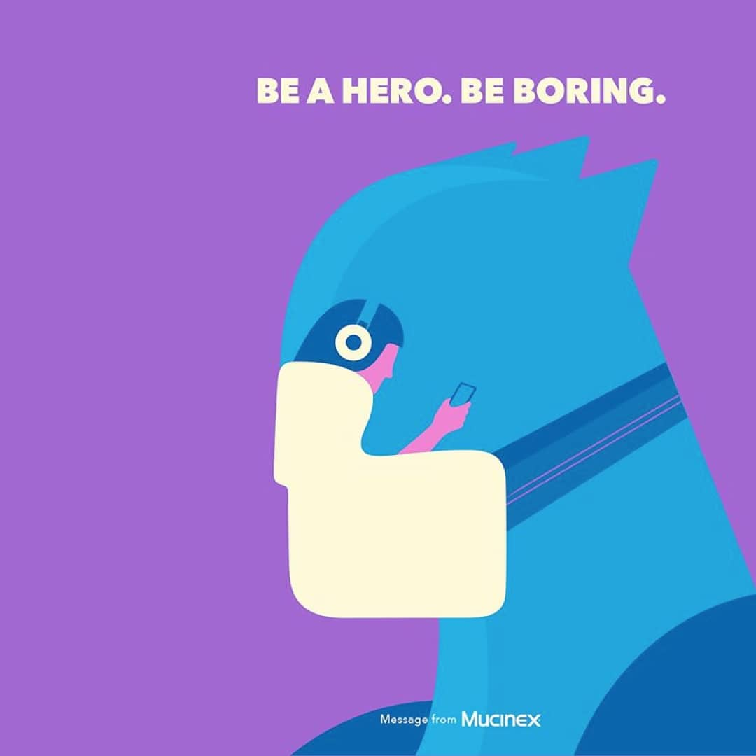 Be a Hero. Be Boring.