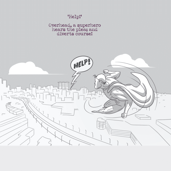 GIG Concepts #1 - Superhero Comic Book Strip 03