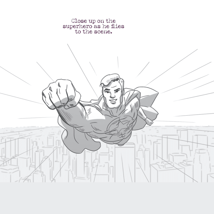 GIG Concepts #1 - Superhero Comic Book Strip 04