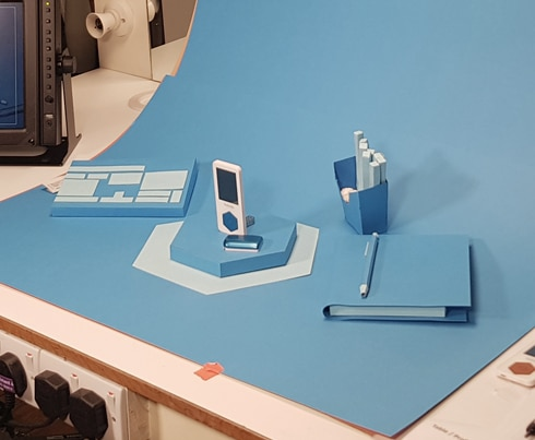 Kaleido - Card Blue