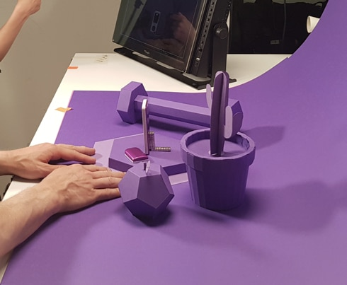 Kaleido - Card Purple