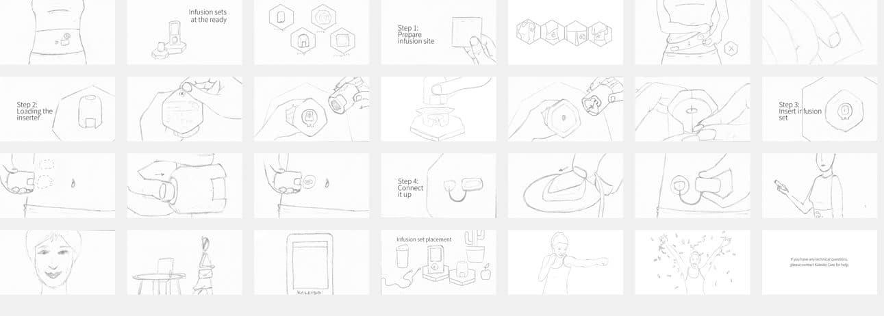 Kaleido - Storyboards
